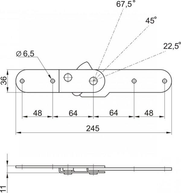 Механизм-подлокотника № 542