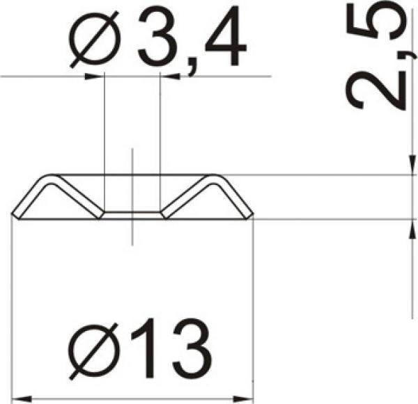 Шайба специальная № 31