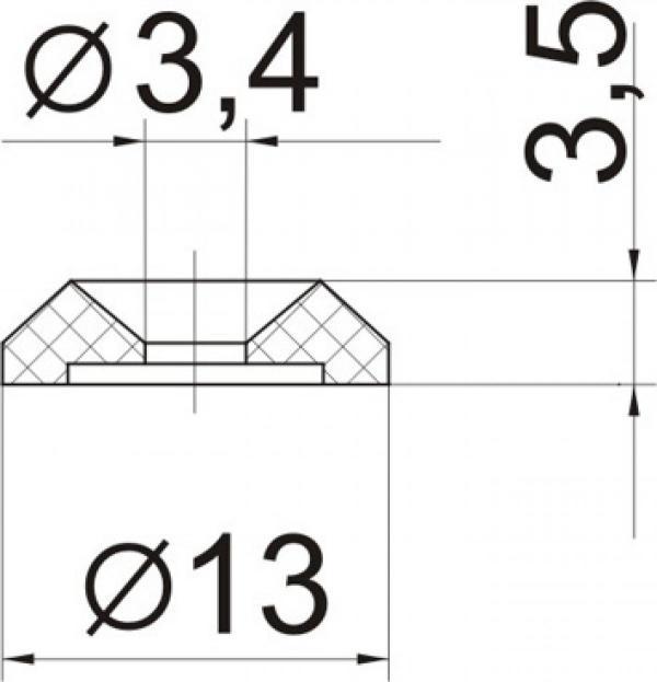 Шайба специальная № 31м